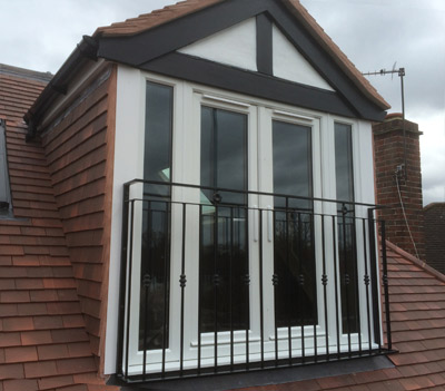 Aluminium windows and doors are great for loft extensions