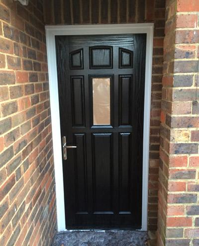 New front door in Carshalton