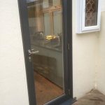 Make sure your rear door is secure to protect your home