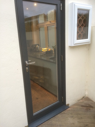 Front or back doors in choice of wood upvc or composite for Back entry doors for houses