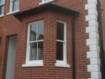 Sash windows help add character to a home