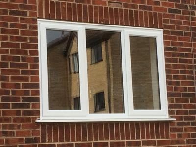 Standard frame double glazed windows