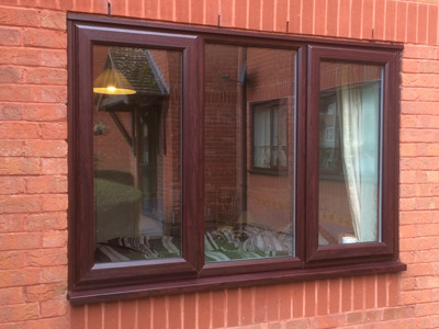 Triple glazing comes in a range of colour finishing options